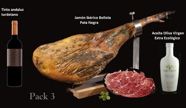 jamon-iberico-bellota PACK 3 CLUB DEL JAMON PACK