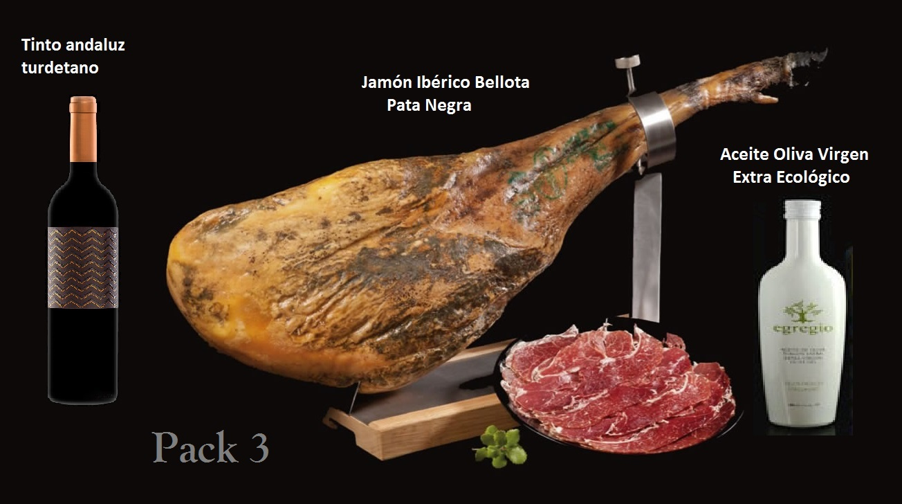 Pack Jamon Iberico Bellota