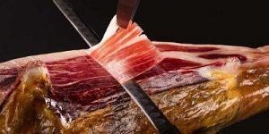 cómo cortar jamón