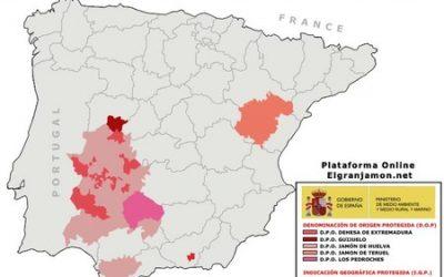 Denominación de origen del jamón ibérico